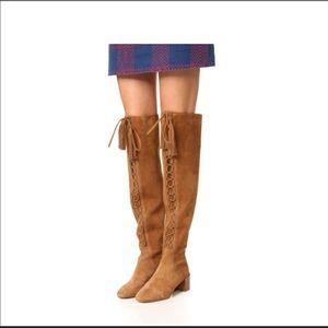 Michael Kors Harris OTK Suede Boots
